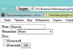 Web-программирование. Java Script(JS): Взаимодействие с пользователем. Проверка данных перед отправкой формы.
